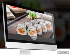"Check out new work on my @Behance portfolio: ""Landing page SUSHI SET"" http://be.net/gallery/42300887/Landing-page-SUSHI-SET"