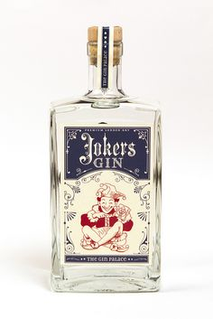 Joker's Gin | #packaging #bottledesign #gin