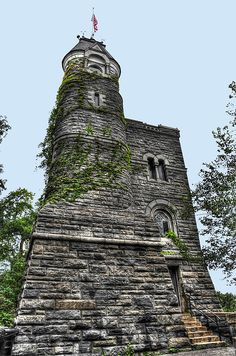 The East Wall Of Belvedere Castle In Central Park ~ New York City, New York