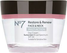 Visibly lifts, smoothes & reveals a firmer feeling face & neck Back To School Makeup, Makeup Sale, Broad Spectrum Sunscreen, Lip Stain, Eye Palette, Health Facts, Restoration, How To Apply, Cream