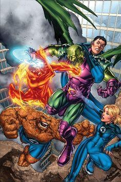 The Fantastic Four vs Annihilus