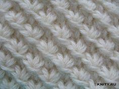 вязание спицами простые узоры