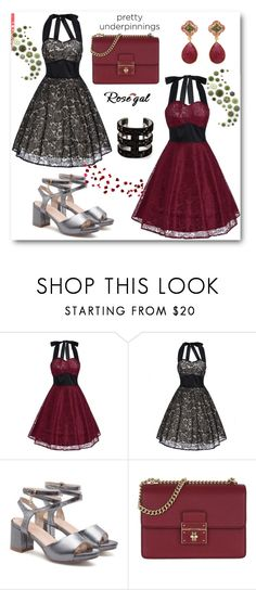 """Rosegal"" by thefashion007 ❤ liked on Polyvore featuring Dolce&Gabbana, Carousel Jewels and vintage"
