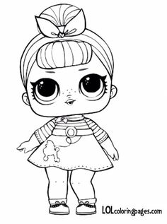 Printable Coloring Pages Rainbow Lovely Coloring and Drawing Printable Coloring Pages Lol Dolls Barbie Coloring Pages, Unicorn Coloring Pages, Cool Coloring Pages, Coloring Pages To Print, Printable Coloring Pages, Coloring Pages For Kids, Coloring Sheets, Coloring Books, Art Drawings For Kids