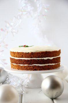 Vanilla Cake, Desserts, Food, Christmas Recipes, Healthy, Tailgate Desserts, Deserts, Eten, Postres