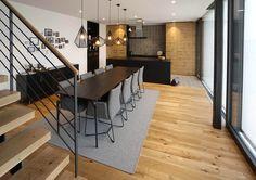 Designküche M. Küchen Design, Conference Room, Table, Furniture, Home Decor, Refurbishment, Homes, Homemade Home Decor, Meeting Rooms