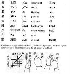 Kuji Kiri Info 1
