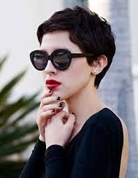 Image result for thick curly pixie cut