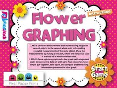 Here's a flower-themed SMARTBoard game for working on line plots, bar graphs, and pictographs.