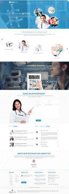 Medicom on Web Design Served