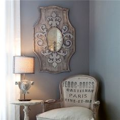 Aiden Gray Mirror from Layla Grace $188