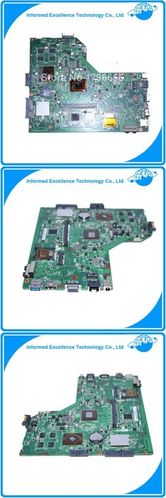 Original laptop motherboard for ASUS K54HR Motherboard with i3 cpu Rev2.1 PGA989 DDR3 USB3.0 Working perfect