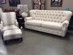 The Texas Rustic North Park Sofa Is Back In Stock And On The Showfloor. $959