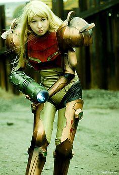 Samus cosplay - well done!! #cosplay