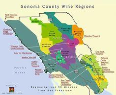 Sonoma regions #sonoma #wineregions