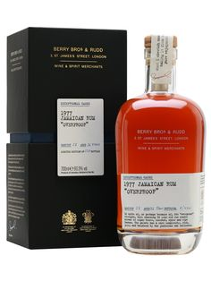 Berry Bros Jamaican Rum 1977 / 36 Year Old / Overproof : The Whisky Exchange