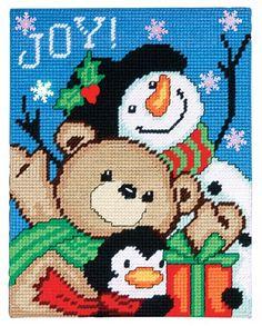 Amazon.com: Joy Friends Plastic Canvas Kit: Arts, Crafts & Sewing