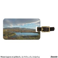 Travel in style with Blue luggage tags from Zazzle! Find a design that suits your suitcase or create your own. Make your tags today! Bag Tag, Golden Hour, Luggage Bags, Travel Style, Reflection, Initials, Sky, Vacation, Tags