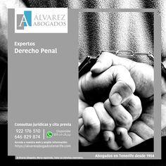 Abogados Derecho Penal Tenerife. Especialistas en delitos e infracciones del derecho penal, penal económico y contra el patrimonio. Consúltenos ahora su caso. https://alvarezabogadostenerife.com/?p=13089 #Abogados #Tenerife #DerechoPenal #Delitos