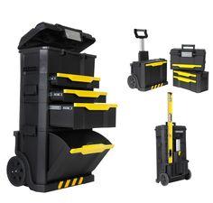 FatMax Rolling Tool Box | ... Modular Rolling Workshop Toolbox Chest Detachable Tool Box 1-79-206