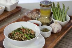 The Marilyn Denis Show | The 'Zero Belly Diet' - Quinoa Salad w asparagus, lentils, sun-dried tomatoes, pesto, vinaigrette