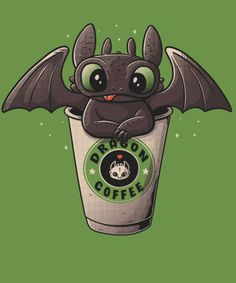 Dragon Coffee t-shirt and Drink wallpaper cartoon Cute Animal Drawings Kawaii, Cute Cartoon Drawings, Cute Disney Drawings, Cartoon Wallpaper Iphone, Disney Phone Wallpaper, Cute Cartoon Wallpapers, Disney Kunst, Disney Art, Kawaii Disney