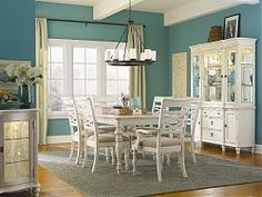The Glen Cove home furniture collection offers cottage style charm