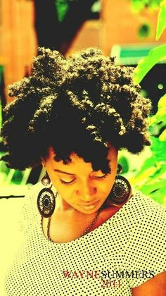 Chunky Twist Out Natural Hair Style