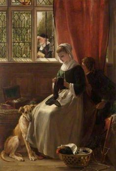 """Truant in Hiding"" by John Calcott Horsley"