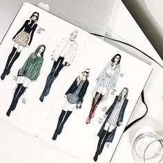 Founded in Fashionary is the world fashion designers sketchbook with a fashion dictionary and blended figure templates. Fashion Line, Fashion Art, Fashion Brands, Fashion Outfits, Fashion Designers, Planet Design, Fashion Communication, Fashion Sketches, Fashion Illustrations
