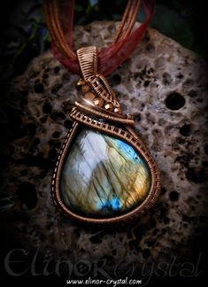 Wire Wrapped Labradorite Buddha Ethiopian Opal Carved Crystal Pendant ~ Magician Stone ~ Communication ~ Psychic Abilities ~ Throat Chakra