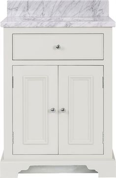 Neptune Chichester Undermount Washstand, 640mm