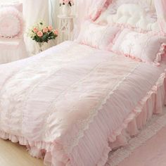 Share this page with others and get 10% off! Paris Dream Ruched Bedding Set
