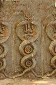 Image result for padmanabhaswamy temple vault b snake