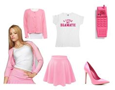 """Regina George"" by llamapotato ❤ liked on Polyvore featuring George, Moschino and Rodebjer"