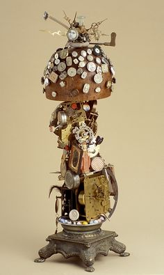 Haute Clocture, assemblage - BB McIntyre in private collection