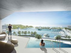 the honeycomb by bjarke ingels group (BIG) in the bahamas