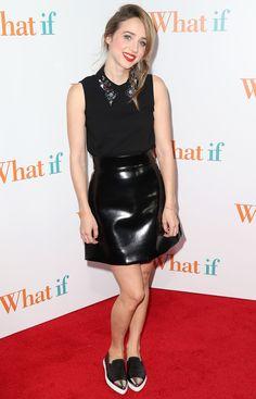 Zoe Kazan - 'What If' Screening at Regal E-Walk 13 in New York City - August 4, 2014 #ZoeKazan #TheFWord #WhatIf