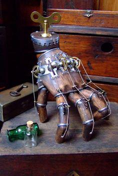 Steampunk Clockwork Hand