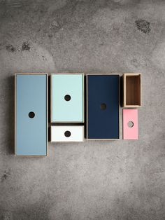 At Bolia New Scandinavian Design, creativity and quality is the starting point for everything we do. Shelf Furniture, Furniture Design, Mood And Tone, Colour Pallette, Color Swatches, Desk Accessories, Minimal Design, Storage Shelves, Storage Boxes