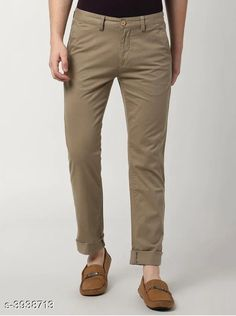 Trousers Trendy Stylish Cotton Men's Trousers Fabric: Cotton Waist Size: 28 in 30 in 32 in 34 in 36 in Length: Up To 40 in Type: Stitched Color: Camel Description: It Has 1 Piece Of Men's Trouser Country of Origin: India Sizes Available: 28, 30, 32, 34, 36 *Proof of Safe Delivery! Click to know on Safety Standards of Delivery Partners- https://ltl.sh/y_nZrAV3  Catalog Rating: ★4 (1846)  Catalog Name: Trendy Stylish Cotton Men's Trousers Vol 15 CatalogID_555091 C69-SC1212 Code: 364-3938713-