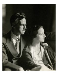 1929    Eugene O'Neill, the only playwright ever to win a Nobel Prize for literature, authored theater classics such as 'Mourning Becomes Electra,' 'Ah, Wilderness,' 'The Emperor Jones,' and 'The Iceman Cometh.' Here, he is pictured with his third wife, actress Carlotta