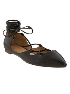 Banana Republic Allie Black Lace Up Ballet Flats Black Lace Up Flats, Lace Up Ballet Flats, Black Leather Flats, Tap Shoes, Dance Shoes, Big And Tall Outfits, Shoes Too Big, Fall Wardrobe, Wardrobe Ideas