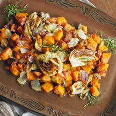 Sweet Potato and Fennel Hash- we loved this. Even my picky teenager claimed it is one of her faves I've made recently. Will def make again!
