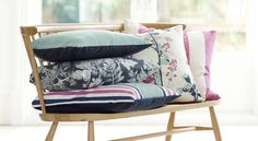 Villa Nova presents Elveden prints and weaves, rich with intrigue and nostalgia inspired by woodland and nature. Prints and Weaves Upholstery Fabrics, Prints, Drapes & Wallcoverings Textile News, Home Textile, Striped Upholstery Fabric, Outdoor Fabric, Home Decor Trends, Bed Pillows, Cushions, Villa, Textiles