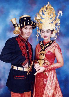 Batak Mandailing Couple - North Sumatera, Indonesia