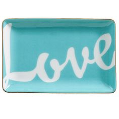 These cheeky, decorative trays are playful affirmations for worldly, confident women who know their worth. Shades Of Turquoise, Shades Of Blue, Himmelblau, Tray Decor, Tiffany Blue, Household Items, My Favorite Color, Home Accessories, Blue Green