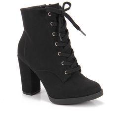 m.passarela.com.br galeriaproduto?prodId=6010376612 High Heel Boots, Shoes Heels Boots, Heeled Boots, Bootie Boots, Ankle Boots, High Heels, Mode Rock, Cute Heels, Cute Boots