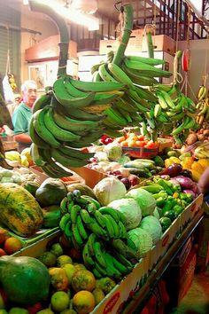 Puerto Rico farmers market <3