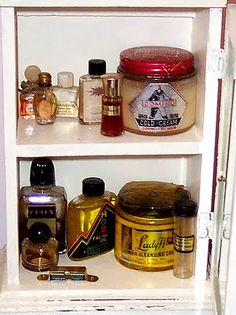 Image detail for -... Ranch House: Show Us Your Vintage Cosmetics and Medicine Chest Goodies